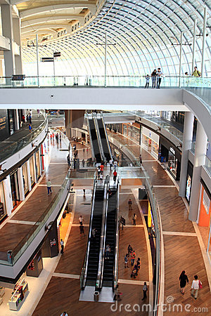 Shopping mall,Singapore Editorial Stock Image