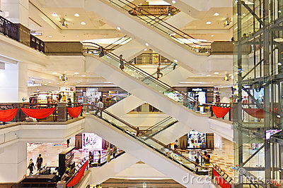 Shopping Mall, Times Square, Malaysia Editorial Stock Image