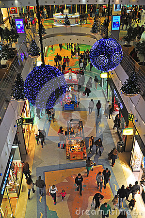 Shopping mall Vasco da Gama Editorial Photography