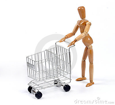 Shopping Man
