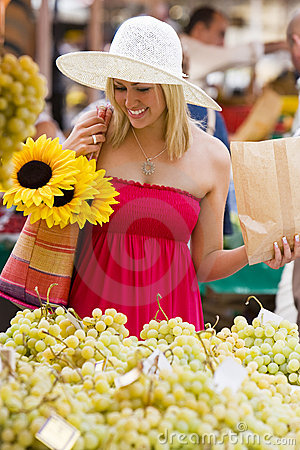 Shopping In The Market