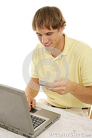 Shopping Online Vertical