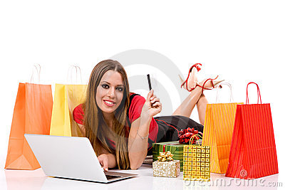 shopping over internet