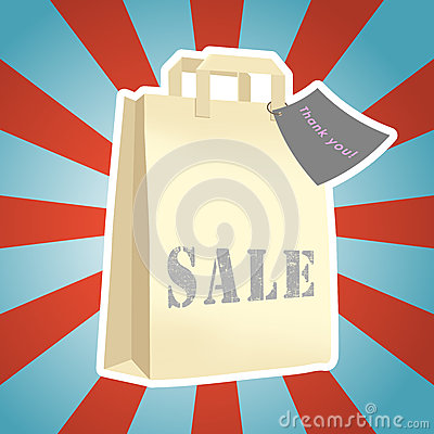 Free Shopping Packet Sale Stock Photography - 29533402