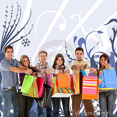 Shopping People Stock Photography - Image: 11728902
