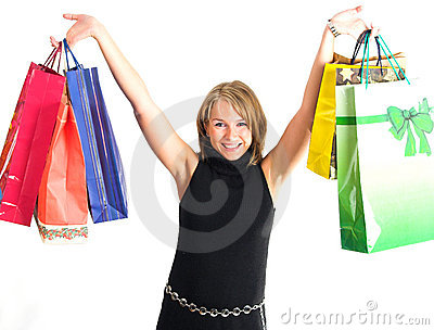 Shopping pretty women