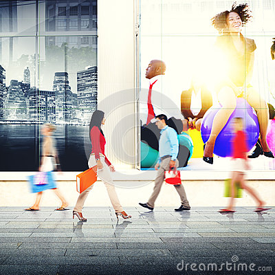 Free Shopping Purchase Retail Customer Consumer Sale Concept Stock Images - 58248754