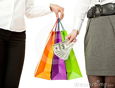 Shopping/purchasing/buying concept