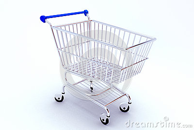 Shopping Push Cart