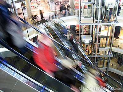 Shopping in Russia Editorial Photography