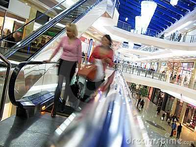 Shopping in Russia Editorial Stock Photo