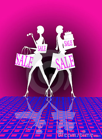 Free Shopping Sale Royalty Free Stock Images - 4039589