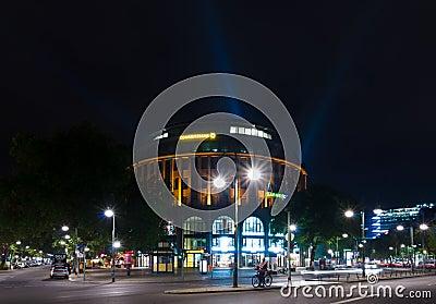 The shopping street Kurfuerstendamm in night illumination Editorial Photography