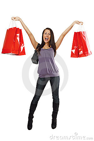 Free Shopping Success Royalty Free Stock Photo - 10362215