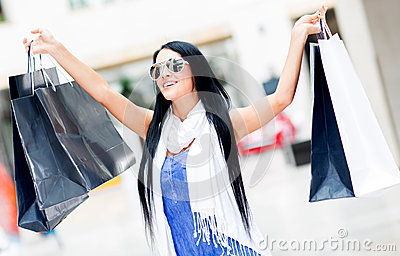 Shopping summer sales
