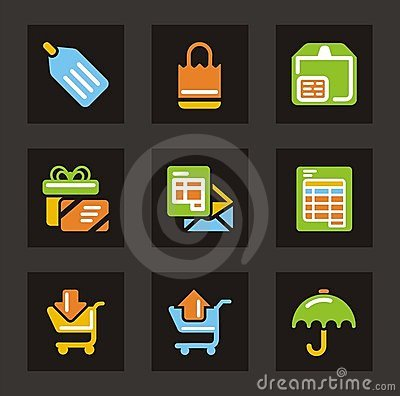 Shopping and Trade Icons