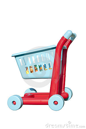 Free Shopping Trolley Royalty Free Stock Photography - 10642247