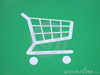 Shopping Trolley Sign.