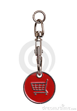 Shopping trolley token