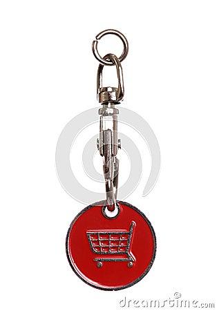 Shopping trolley token