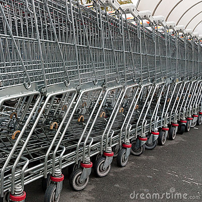 Shopping trolleys - square