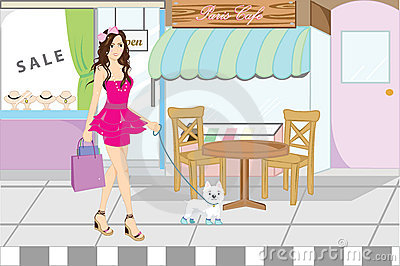 Shopping woman