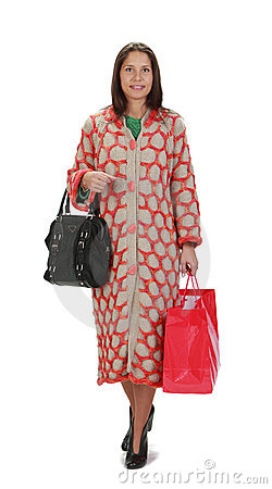 Shoppingkvinna