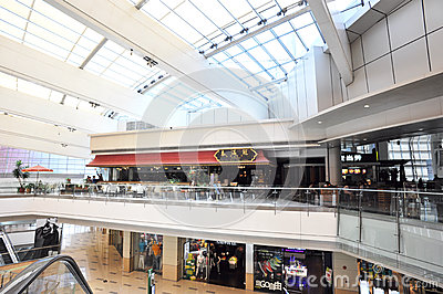 Shoppingmall interior Editorial Image