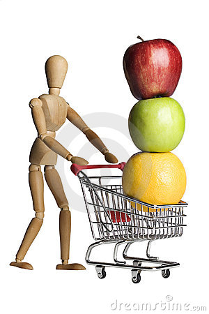 Free Shoppping For Produce Royalty Free Stock Images - 3811899