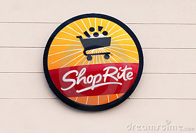 ShopRite Logo. Editorial Photo
