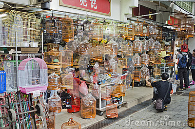 Shops Selling Chinese Style Bird Cages