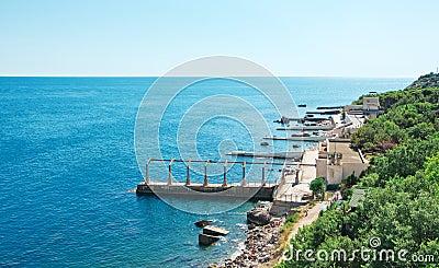 Shore of sea
