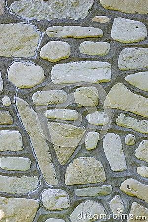 Shore Stone wall
