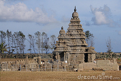 Shore temple - Mamallapuram (Mahabalipuram), India
