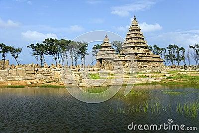 Shore Temple - Mamallapuram -Tamil Nadu - India