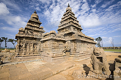 Shore Temple - Tamil Nadu - India