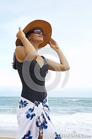 Shore woman