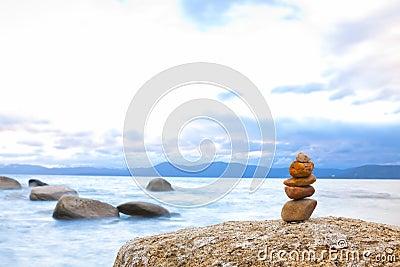 Shore Zen Stone Stack