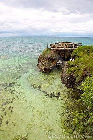 Shoreline Camotes Islands
