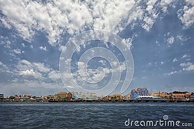 Shoreline of Curacao In The Caribbean Islands