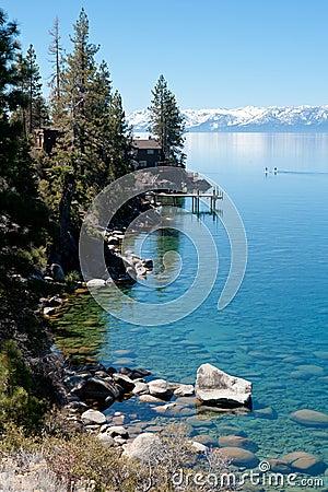 Shoreline of the lake