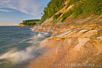 Shoreline Pictured Rocks National Lakeshore