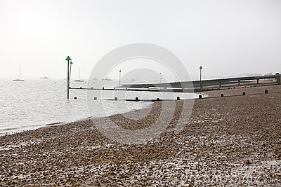 Shoreline at Southend,