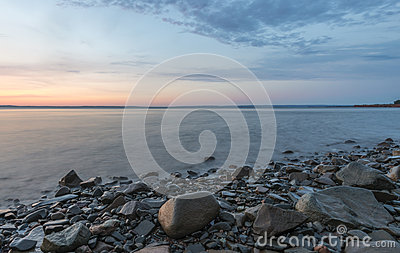 Shoreline at Sunrise