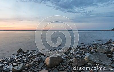Shoreline at Sunrise