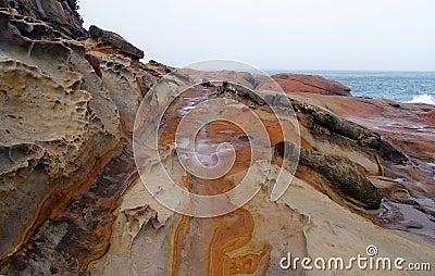Shoreline in taiwan