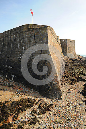 Ancient Sea Fortress Guernsey