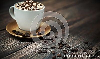 Short break in coffee shop