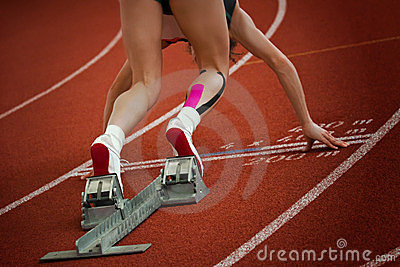 Short distance sprint start 1