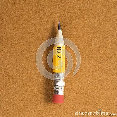 Short pencil.